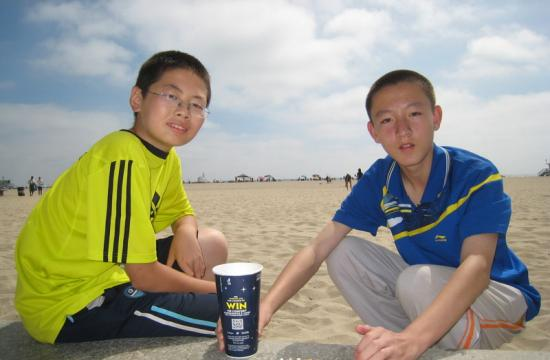 Chinese study abroad students conduct research on cigarette butt pollution in residential