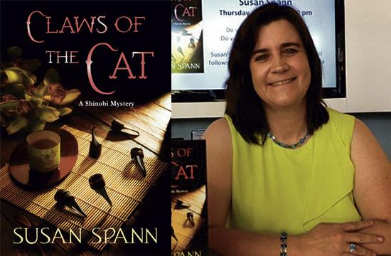 """Author Susan Spann has written about a ninja detective who solves murders in the crime novel """"Claws of the Cat: A Shinobi Mystery."""""""