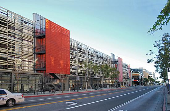 Parking Structure 7 is located at 320 Broadway near the Third Street Promenade.