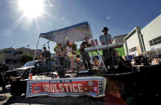 Enjoy live music Sunday at four stages on Main Street between Pier Avenue and Hollister Avenue.