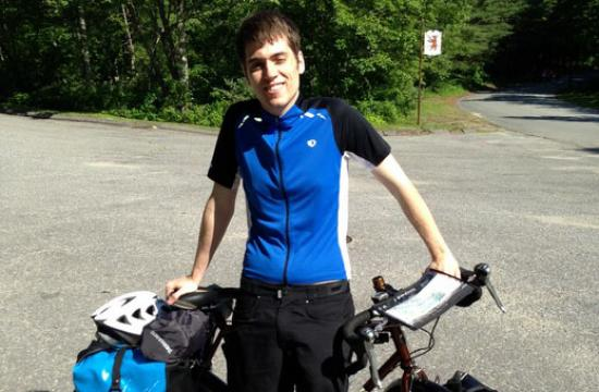Garrett Shay's ride across the country will help the Boys and Girls Club of Greater Salem.