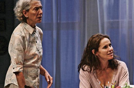 """Beth Dixon as Alice and Amy Brenneman as Catherine in Gina Gionfriddo's """"Rapture"""