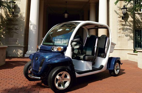 Neighborhood Electric Vehicles are battery powered vehicles that are legally allowed on roads with speed limits up to 45 MPH.