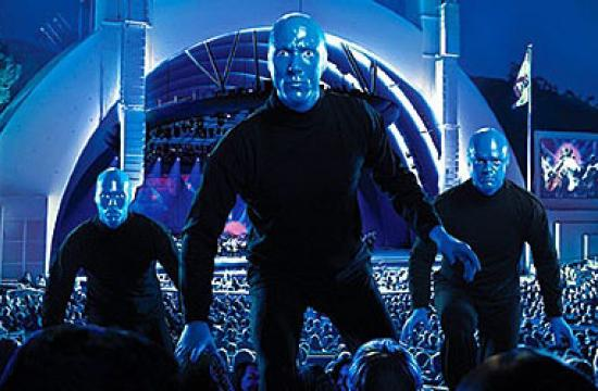 Blue Man Group's two performances at the Hollywood Bowl this weekend will feature the largest body of new material the group has created in almost a decade.