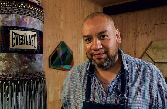 Artist Jeffrey Gibson will exhibit his art at Shoshana Wayne Gallery through Oct. 19