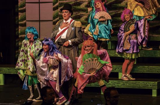 "Pacific Opera Project's production of ""The Mikado"" will take place at The Miles Playhouse with performances today through Sept. 22."