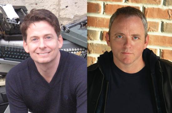 Authors John Searles and Dennis Lehane will participate in a program Saturday that's free and open to the public.