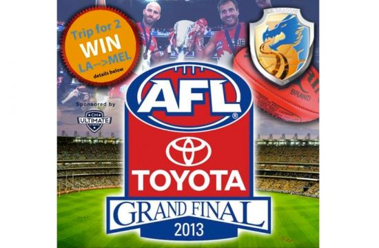 Busby's Sports Bar will screen the 2013 AFL Grand Final on Friday night.