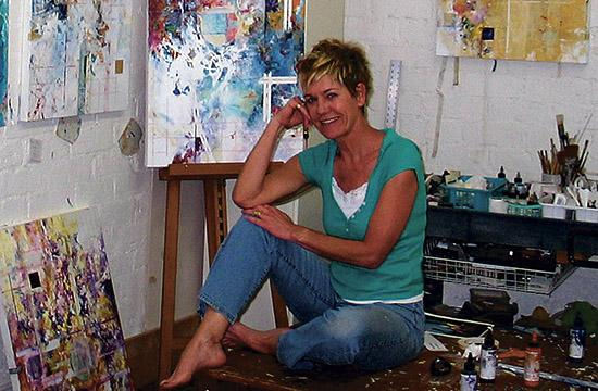 Carol Surface will display a selection of her works at Upper West restaurant in Santa Monica through January 2014.