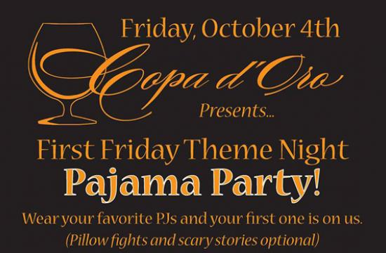 Copa d'Oro will present its Pajama Party this Friday.