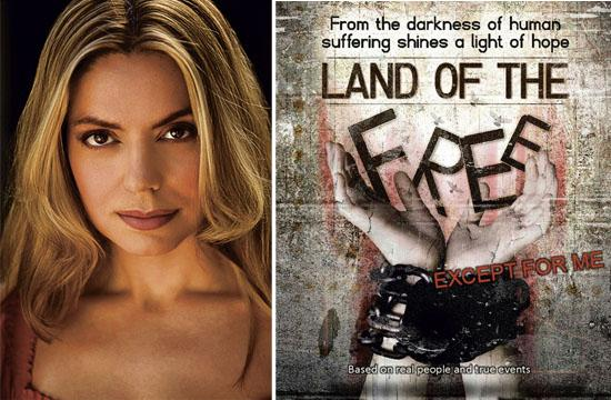 """Slavery survivor Marie Paquim has launched an Indiegogo campaign to raise funds for her film """"Land of the Free"""