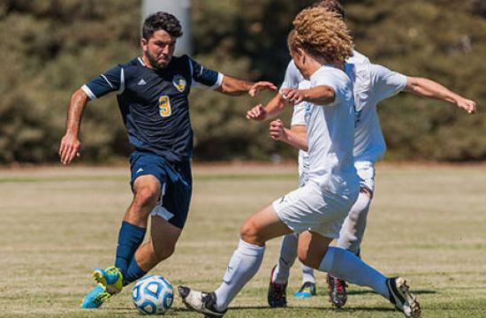 Former Santa Monica High and Santa Monica College standout Alessandro Canale now leads UC San Diego.