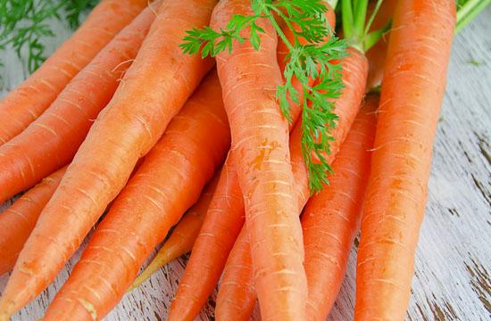 Load up on beta-carotene laden carrots