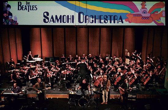 "The Santa Monica High School Orchestras presents ""The Beatles at Barnum III"" tonight."