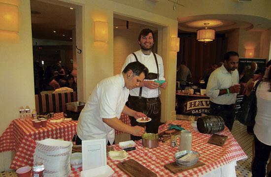 Bernhard Mairinger in his own lederhosen will return to this year's Sausage Fest at the Fairmont Miramar Hotel this weekend.