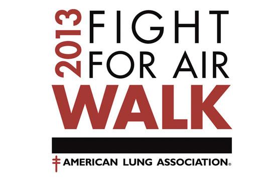 The 4th Annual Fight For Air Walk is this Sunday in Santa Monica.