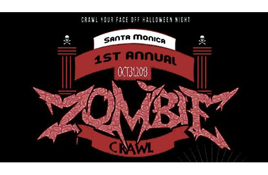 The 1st Annual Zombie Crawl will be held Thursday
