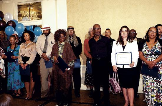 There were 24 previously homeless individuals who were honored at the 2013 Success Breakfast.