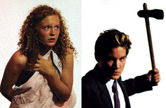 (Left) Julia Ruff plays Brooke