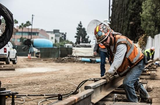 Rail welding in Santa Monica is now under way for Phase 2 of the Expo Light Rail Line.