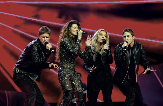 Shania Twain takes fans on a journey of her life at her show currently on stage at The Colosseum at Caesars Palace Las Vegas.