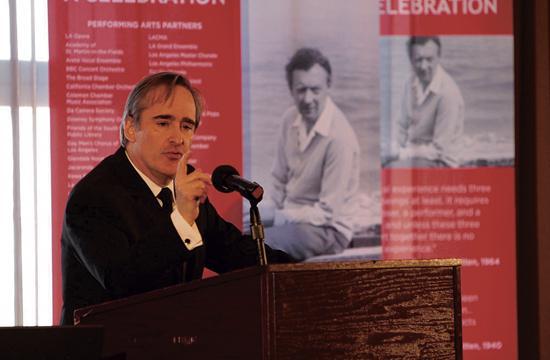 James Conlon reflects on the artistic legacy of composer Benjamin Britten.