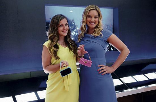 "Santa Monica entrepreneurs Jenn Deese (left) and Kelley Coughlan will be featured on tonight's new episode of ""Shark Tank."""