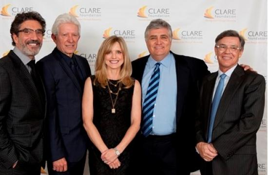 From left: Chuck Lorre