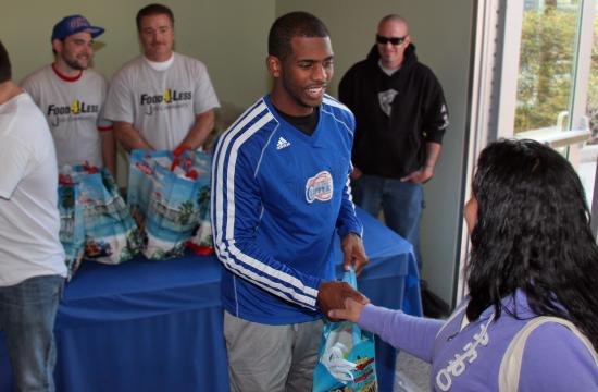 LA Clippers' players (including Chris Paul