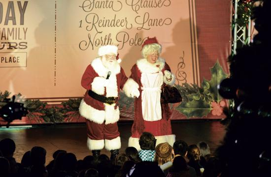 Santa will make a special appearance to help light the City of Santa Monica's tree on Thursday