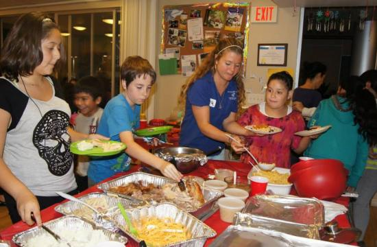 The Boys and  Girls Clubs of Santa Monica served a record-breaking 1200 plus Thanksgiving dinners this past week.