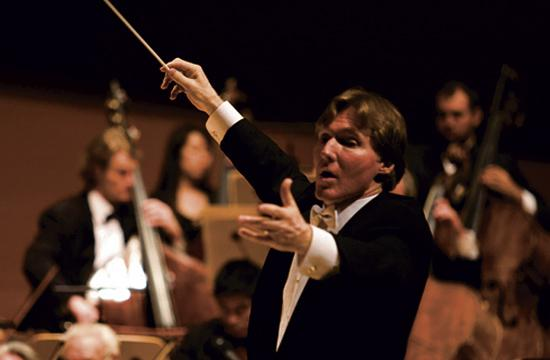 Maestro Guido Lamell will lead the Santa Monica Symphony Orchestra on Saturday afternoon at its free winter concert.