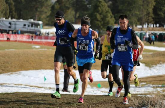 Crossroads cross country coach David Olds comes in second place at the USATF National Cross Country Championships in Bend