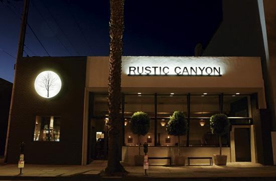 Welcome the New Year at Rustic Canyon Wine Bar and Seasonal Kitchen at at 1119 Wilshire Boulevard.