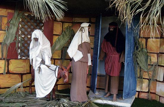 The 60th anniversary display of the Santa Monica Nativity Scenes will conclude Thursday