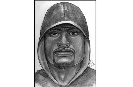 Authorities have released this composite sketch of Monday's Marina del Rey murder suspect.