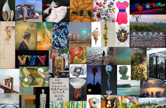 A selection of art works that will be on display Jan. 7 to Jan. 25 at TAG Gallery.