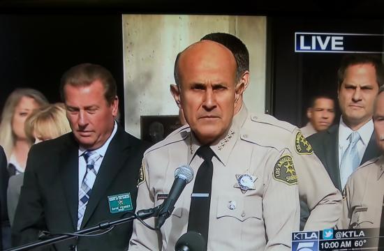 Sheriff Lee Baca.