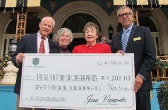 Georgian Hotel owner Ted Broedlow; Carol Lemlein