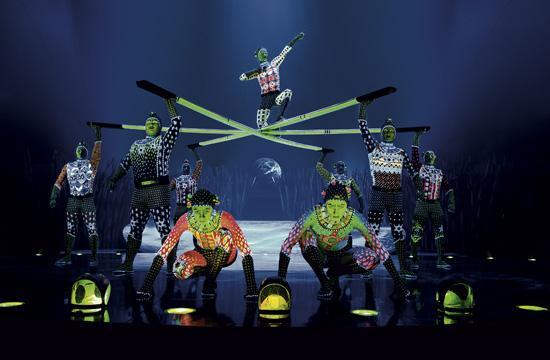 """Cirque du Soleil's """"Totem"""" features 46 acrobats"""