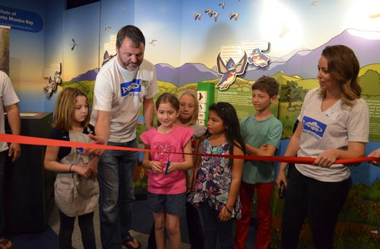 The Santa Monica Pier Aquarium held a grand opening for its Dorothy Green Room on Saturday