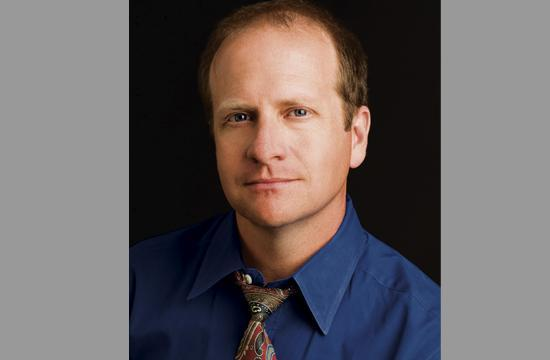 Local author Scott Tracy Griffin.