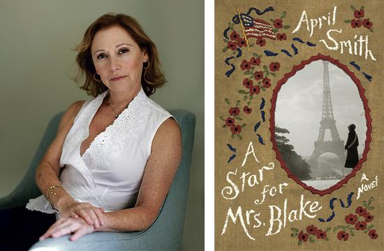 Santa Monica author April Smith has published a novel called 'A Star for Mrs. Blake.'