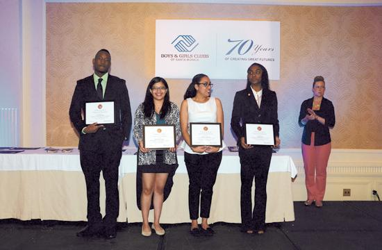 The 2014 Youth of the Year finalists: Tayon Blockmon