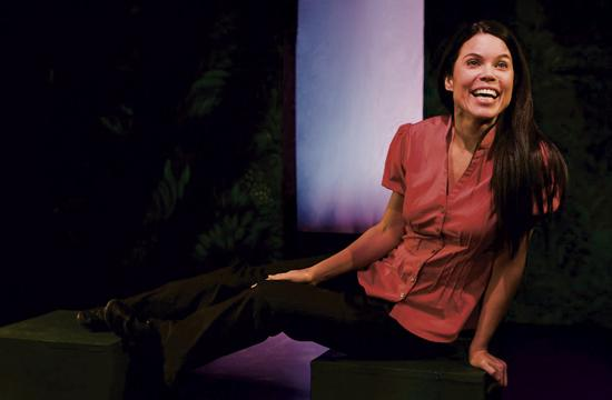 Debra Ehrhardt has written and stars in 'Jamaica Farewell' at the Santa Monica Playhouse.