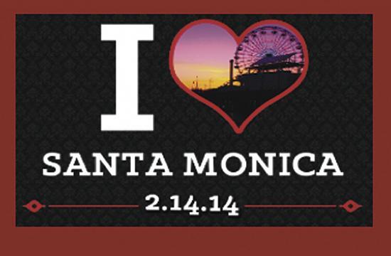 Wokano Santa Monica will host a Valentine's Day party tonight.
