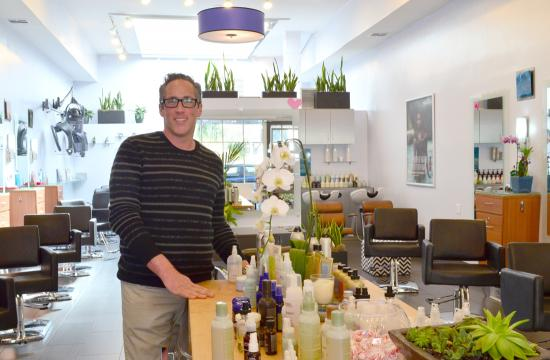 Michael Schoenfeld opened his second Salon Tru location in Santa Monica in December after relocating from Scottsdale