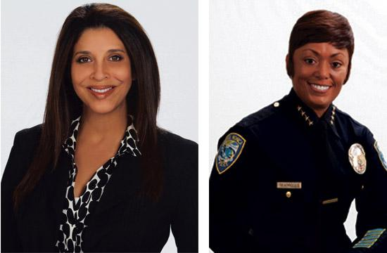 FOX 11 news anchor Christine Devine and Santa Monica Chief of Police Jacqueline Seabrooks will be honored with 'Owlie' Awards in Santa Monica on March  7.