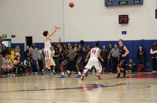 The Crossroads boys's basketball team has won its first two playoff games after defeating Providence and Sage Hill.