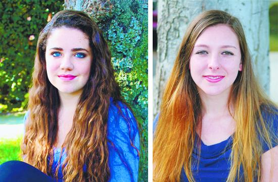 Santa Monica Singers Named YoungArts Winners: Quinn D'Andrea (left) and Jennifer Gsell.